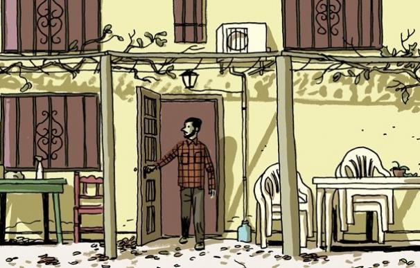 Imagen del cómic de Paco Roca, 'La Casa'.