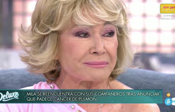 """Mila Ximénez en 'Sábado Deluxe': """"No imaginé jamás que tendría un cáncer"""""""