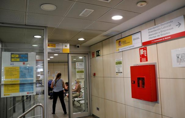 Imagen de una oficina de Empleo conjunta de la Comunidad de Madrid y el SEPE