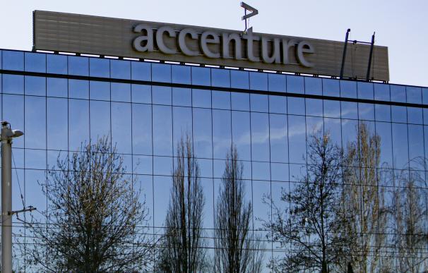 Sedes de la empresa Accenture en el Parque Empresarial La Finca de Pozuelo de Alarcón, en Madrid.