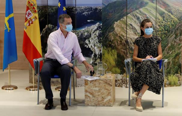 Reyes visita Asturias