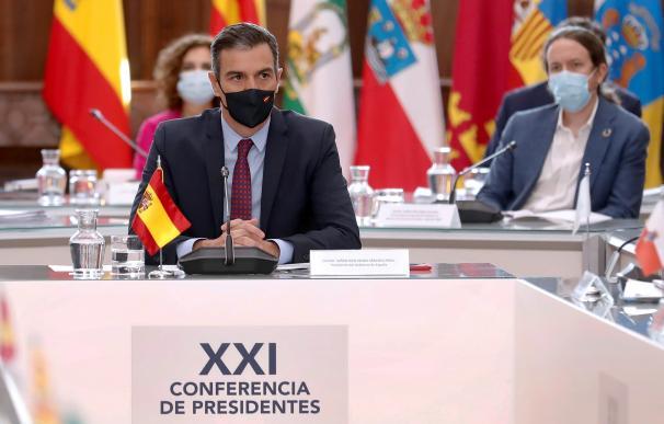 Pedro Sánchez conferencia de presidentes