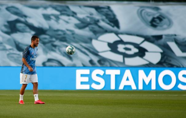 El jugador belga del Real Madrid Eden Hazard es el que más devauación ha sufrido en el mercado.