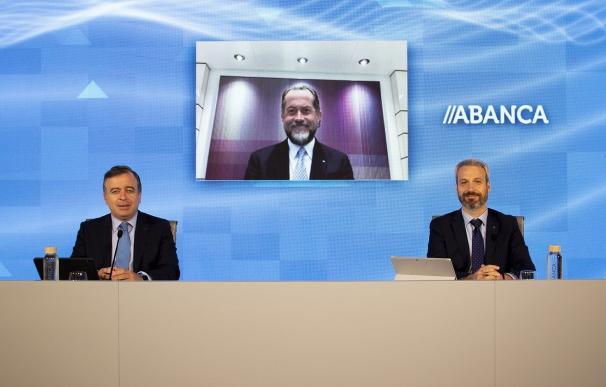 Presentación de Abanca de resultados con Francisco Botas y Juan Carlos Escotet