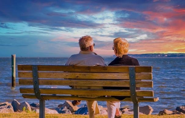 La pensión media de jubilación en España se incrementó en julio.