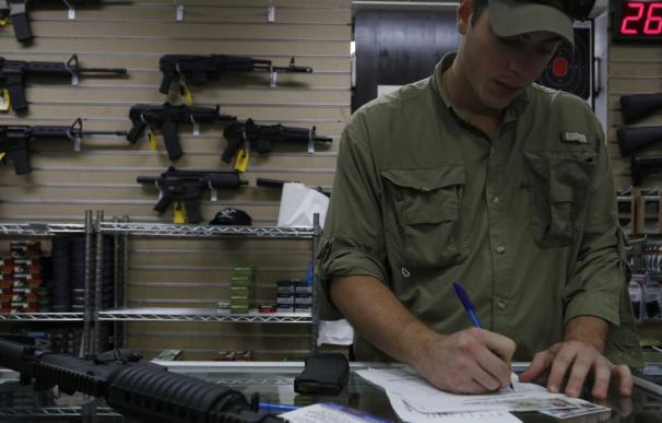 Imagen de archivo de una tienda de armas en EEUU