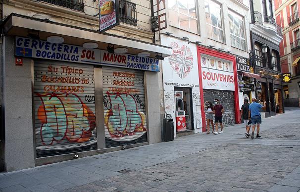 El olor a calamares de la calle Postas en Madrid es solo un recuerdo tras la pandemia.