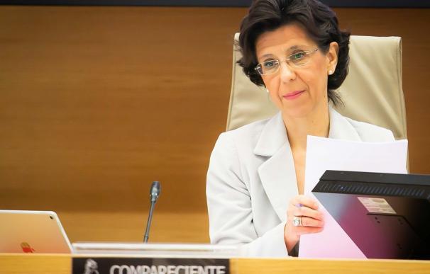 María José de la Fuente, presidenta del Tribunal de Cuentas María José de la Fuente, presidenta del Tribunal de Cuentas (Foto de ARCHIVO) 7/2/2019