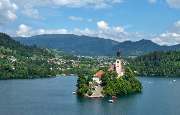 Bled (Eslovenia) es una de las ciudades más baratas para disfrutar de la jubilación.