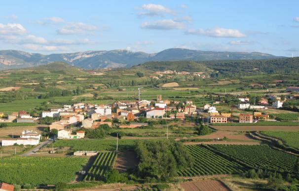 Medrano pueblo de La Rioja
