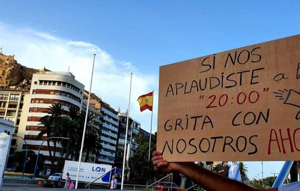 Protestas sanitarios Valencia