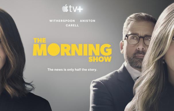 Imagen promocional de la serie insignia de Apple TV+, 'The Morning Show'.
