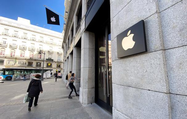 La tienda estandarte de Apple en España se encuentra en la Puerta del Sol de Madrid.