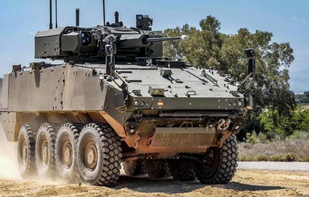 Indra dotará de un sistema de última generación los VCR 8x8 del Ejército