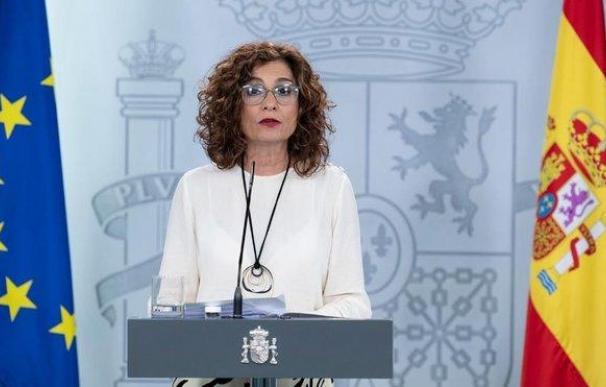 A la ministra de Hacienda, María Jesús Montero, le espera el difícil reto de sacar adelante los PGE 2021.