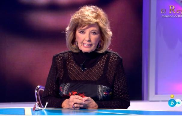 María Teresa Campos en Hormigas Blancas de Telecinco.