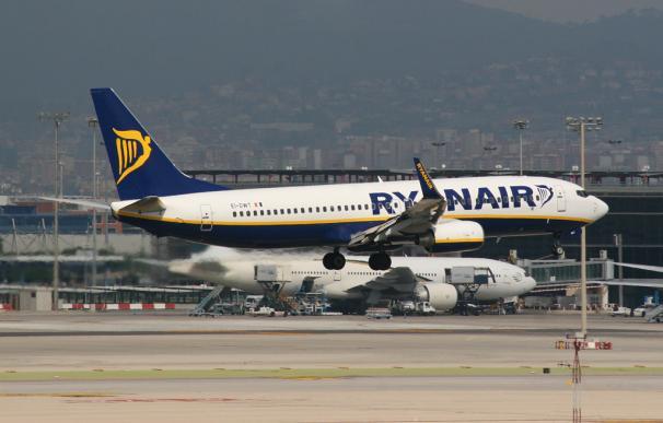ryanair avión aerolíneas
