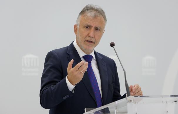 El presidente de Canarias, Ángel Víctor Torres Pérez