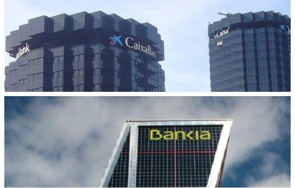 Fusión de CaixaBank y Bankia CaixaBank y Bankia (Foto de ARCHIVO) 1/1/1970