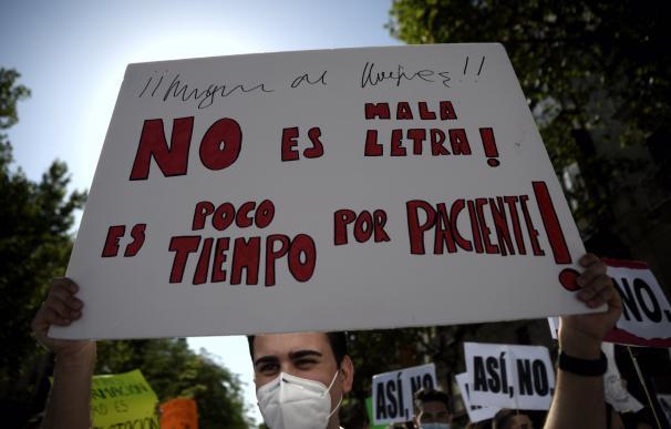 Huelga sanitarios Madrid