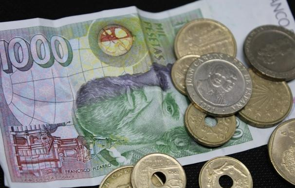 Las monedas y billetes de peseta de pueden vender por miles de euros.