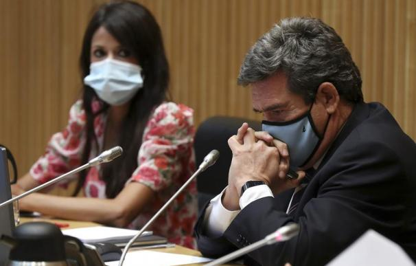 El ministro de Seguridad Social, José Luis Escrivá, en la Comisión del Pacto de Toledo.