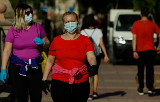 Murcia mascarillas España coronavirus paseo