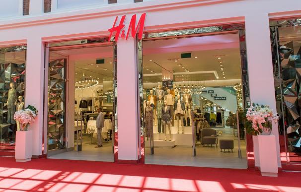 H&M tienda venta ropa sector textil