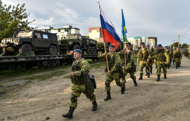 Tropas rusas participarán en unas maniobras en Bielorrusia