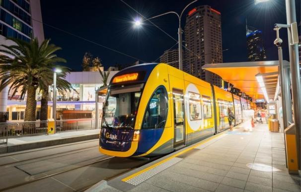 Tranvía de Gold Coast (Australia) construido por cimic Tranvía de Gold Coast (Australia) construido por cimic (Foto de ARCHIVO) 21/3/2016