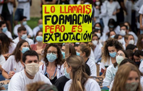 Los MIR catalanes anuncian cinco días más de huelga si no hay un acuerdo