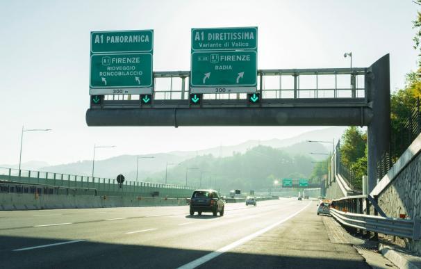 Una de las autopistas que Atlantia controla en Italia a través de Autostrade AUTOSTRADE (ATLANTIA) (Foto de ARCHIVO) 15/7/2020