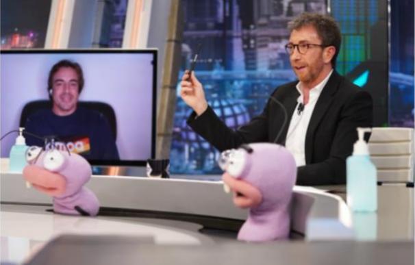 Fernando Alonso presenta su documental desde Milán en 'El Hormiguero'