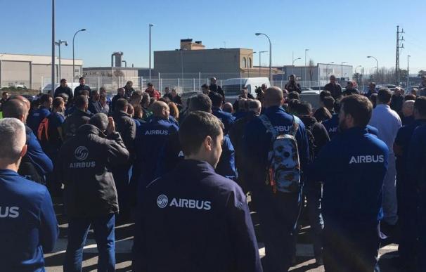 Airbus anunció hace unos meses la salida de 900 trabajadores de su estructura en España.