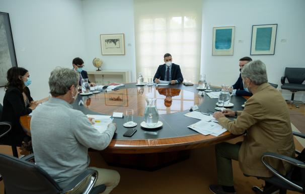 Reunión del Comité de Seguimiento del Coronavirus esta mañana en Moncloa