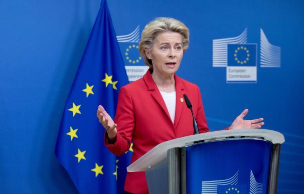 Ursula von der Leyen, jefa del Ejecutivo comunitario