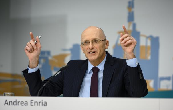 Andrea Enria es el jefe de supervisión de los bancos europeos.
