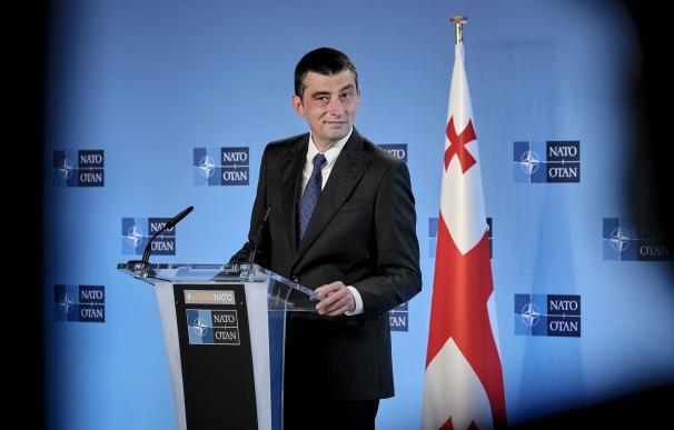 El primer ministro de Georgia, Giorgi Gakharia, ha visitado esta semana las sedes de la UE y de la OTAN.