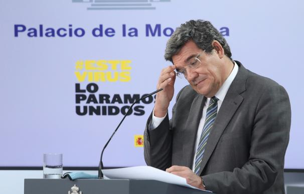 El ministro de Seguridad Social y Migraciones, José Luis Escrivá.