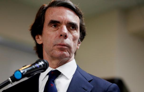 El expresidente del Gobierno de España José María Aznar.