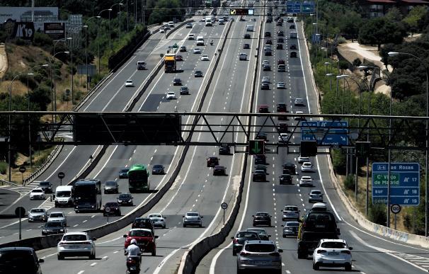 Tráfico carretera Madrid
