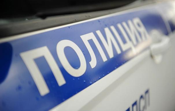 Coche policía Rusia