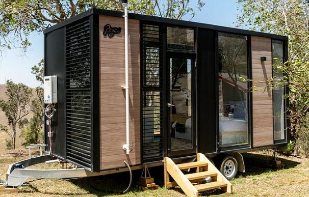 La casa con rueda Reyes de la empresa Build Tiny.