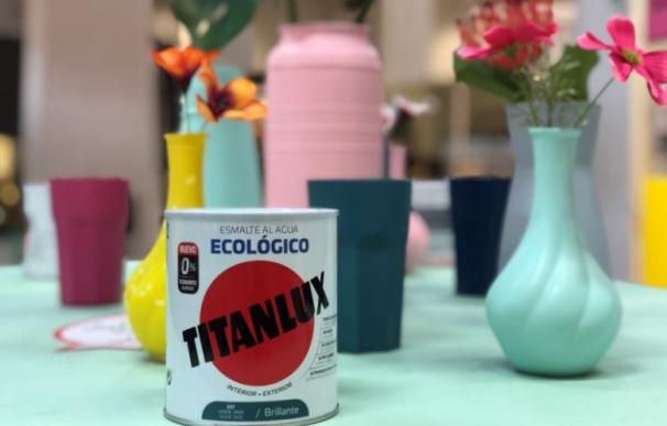Esmalte ecológico de la marca Titanlux