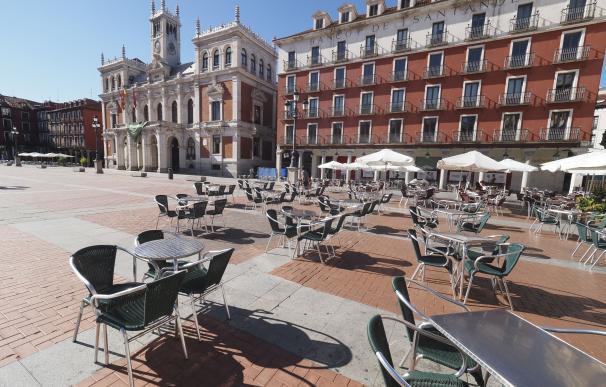 T Plaza Mayor de Valladolid, Castilla y León (España)