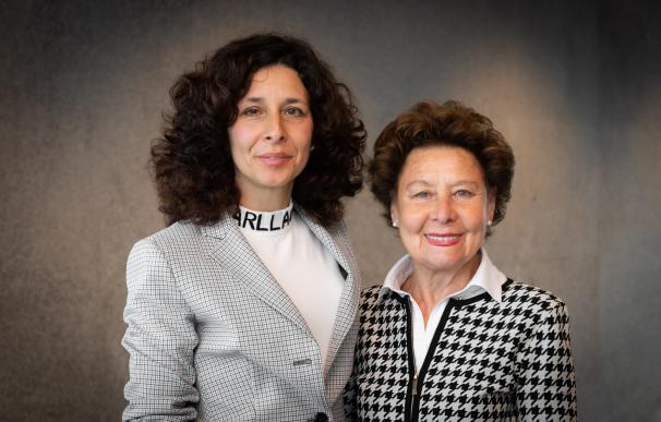 María Teresa Rodríguez y Lourdes Guillén
