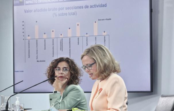 Las dos responsables de la política económica han relatado una verdadera nana infantil con ese Plan Presupuestario enviado a Bruselas para cubrir el expediente