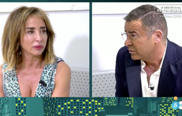 "María Patiño se derrumba ante Jorge Javier: ""Me he sentido ninguneada""."