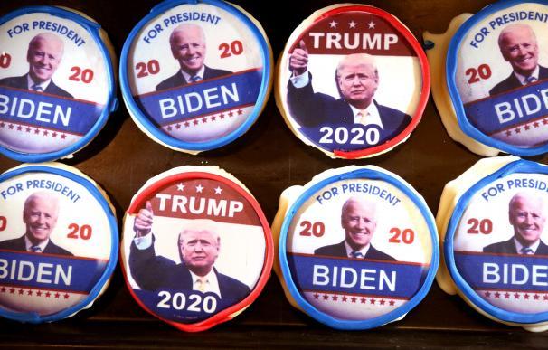 Las campañas de los candidatos a la Casa Blanca incluyen hasta galletas con sus rostros.