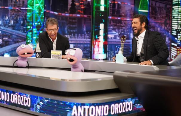 Antonio Orozco y Pablo Motos durante el programa